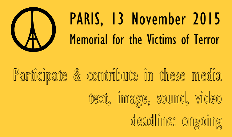 Paris 2015 Memorial