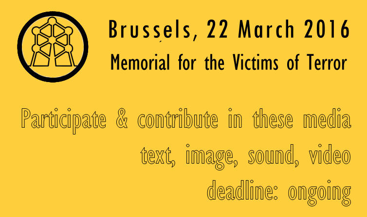 Brussels 2016 Memorial - Paris 2015 Memorial